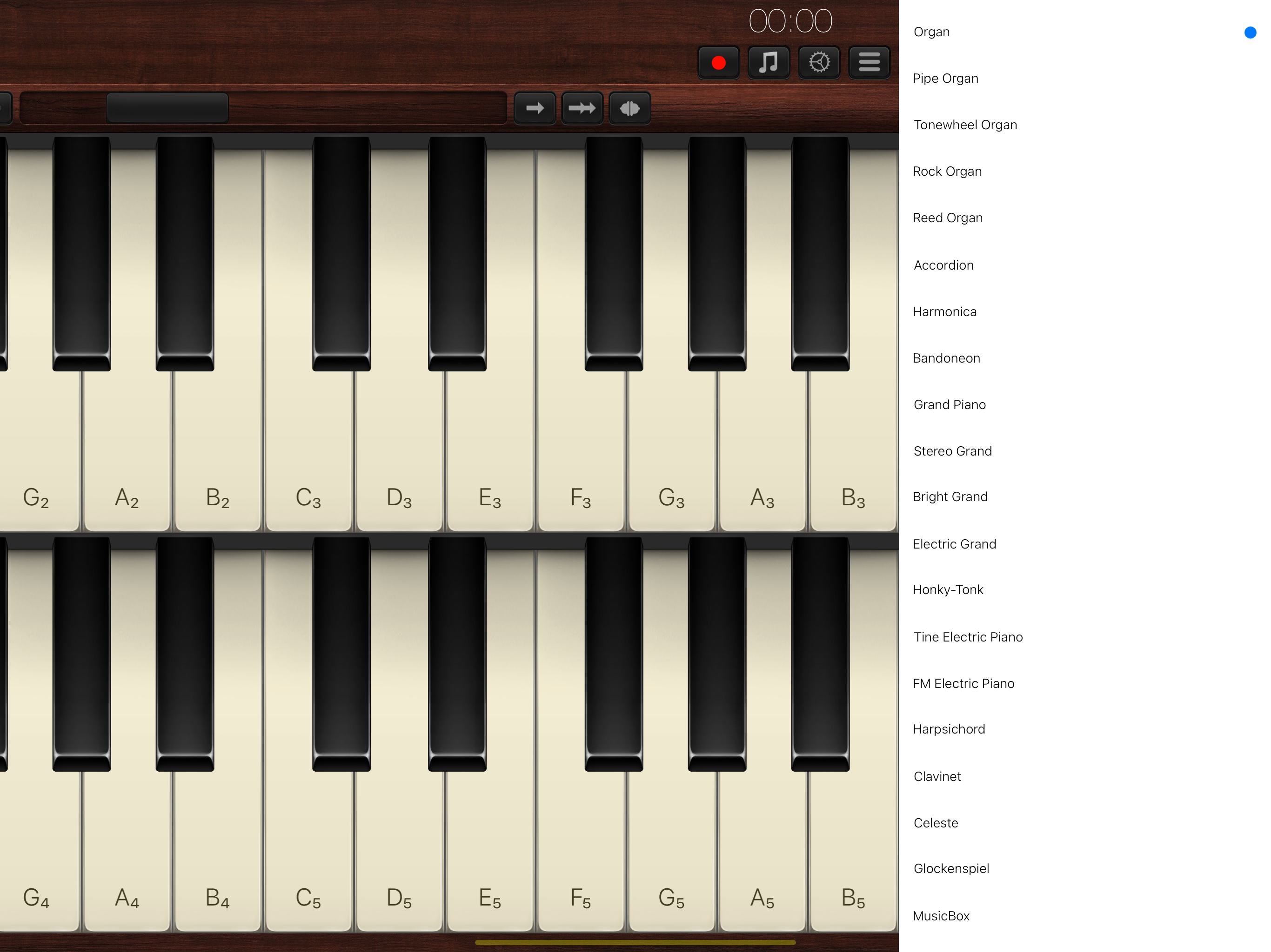 Organ 2.0 Released for iOS - Keyboard with 60 Musical Instruments Image